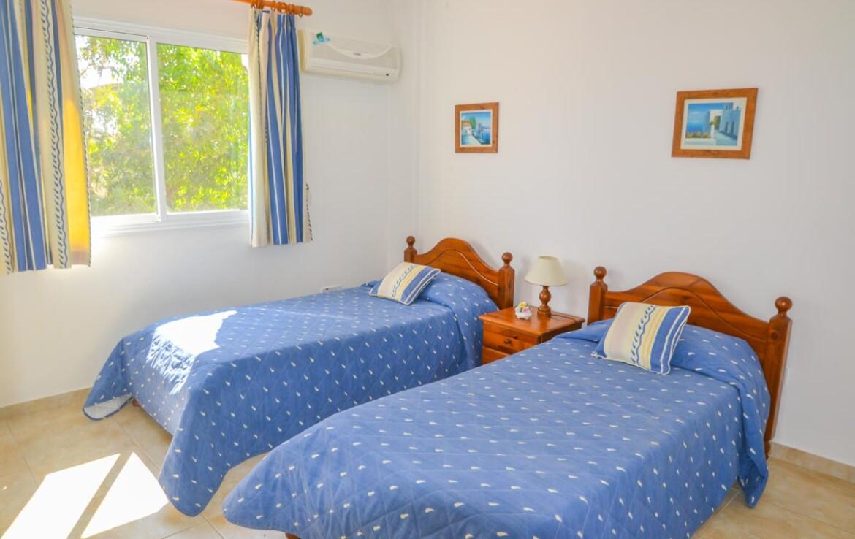 Апартаменты в Каппарисе - спальня