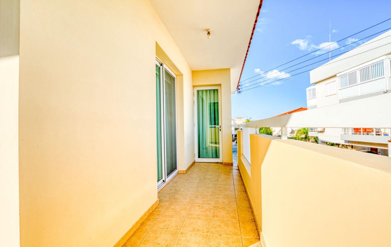 Апартаменты в Паралимни - балкон