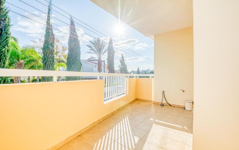 Трехспальная квартира - балкон