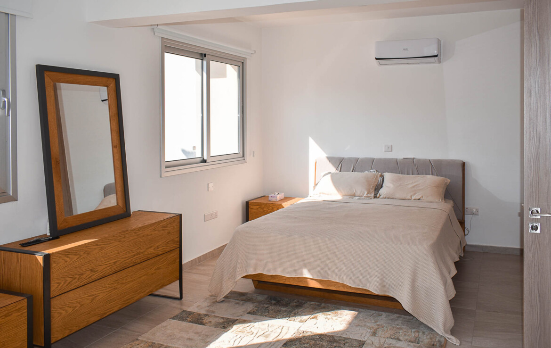 Современный таунхаус - спальня