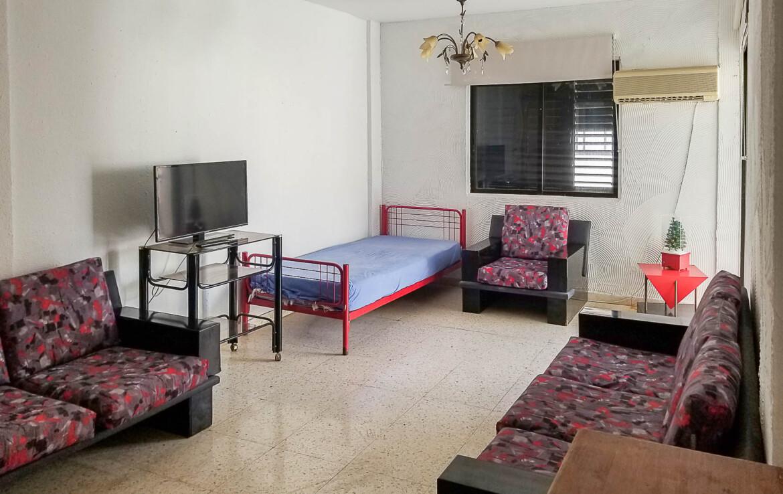 Квартира в Каппарисе - гостиная