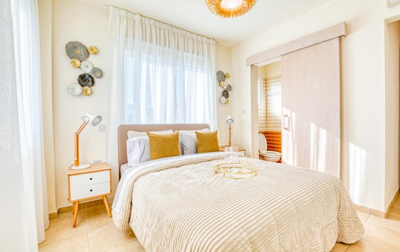 купить апартаменты на Кипре - спальня