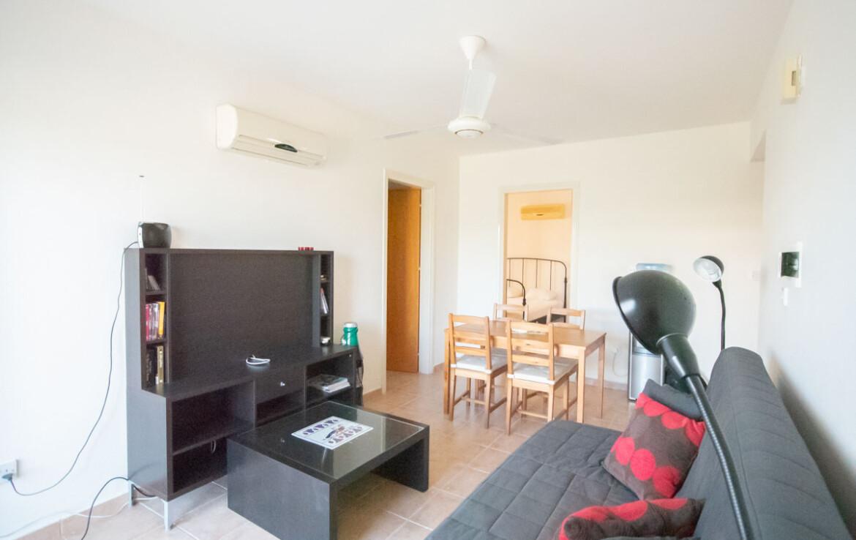 Апартаменты в Каппарисе - гостиная