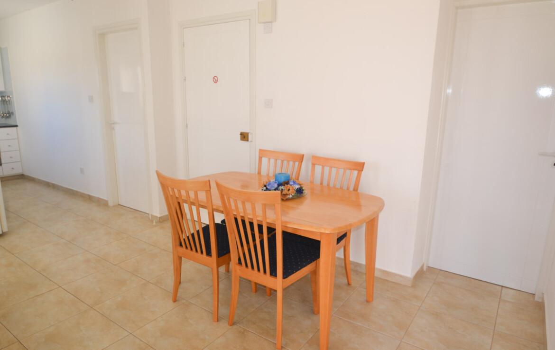 Квартиры Каппариса - обеденная зона