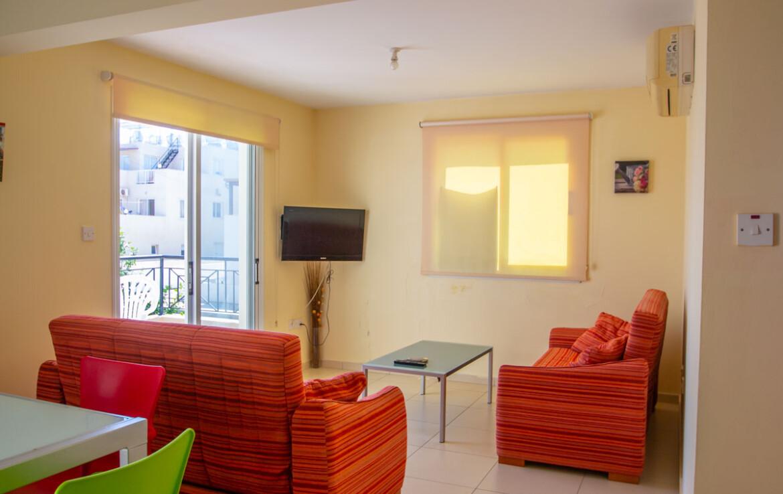 Апартаменты в Каппарисе - зал