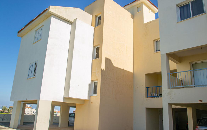 Апартаменты с титулом в Паралимни