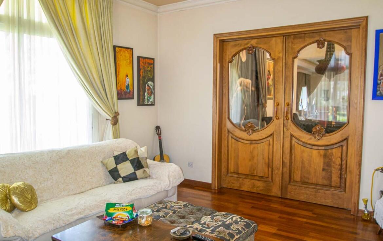 Гостиная в большом доме в Паралимни