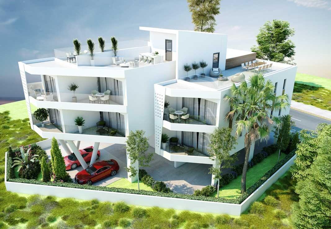Новые апартаменты на Кипре
