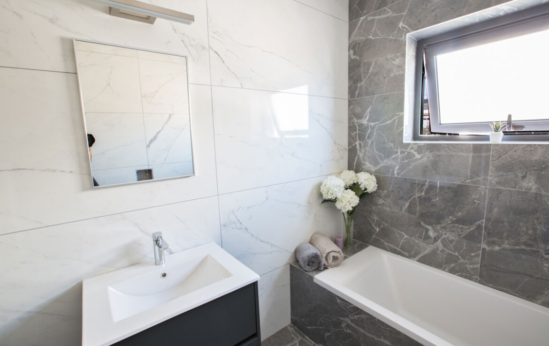 Новая вилла в Пернере -ванная
