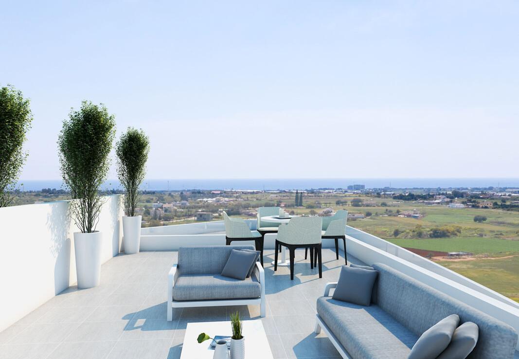 Купить квартиру на Кипре - веранда