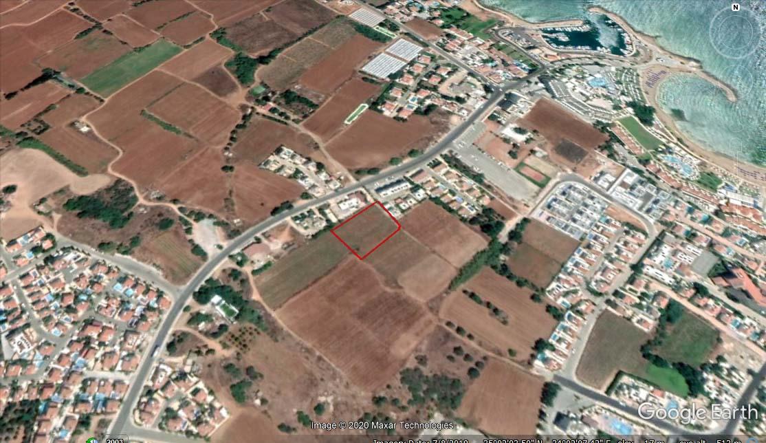 Участок земли в Пернере