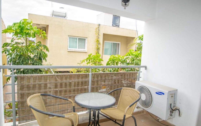 Апартаменты с титулом в Паралимни - балкон