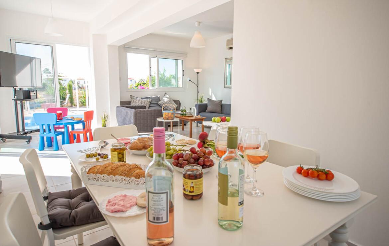 недвижимость Кипра - столовая