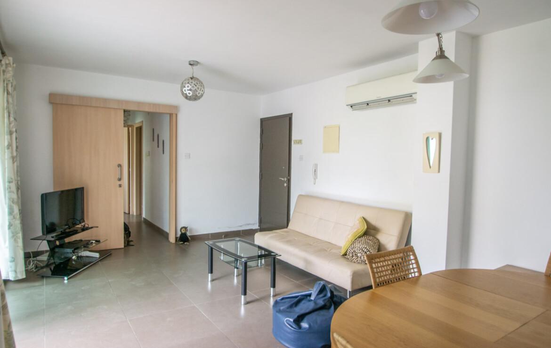 Апартаменты с Титулом в Паралимни - гостиная