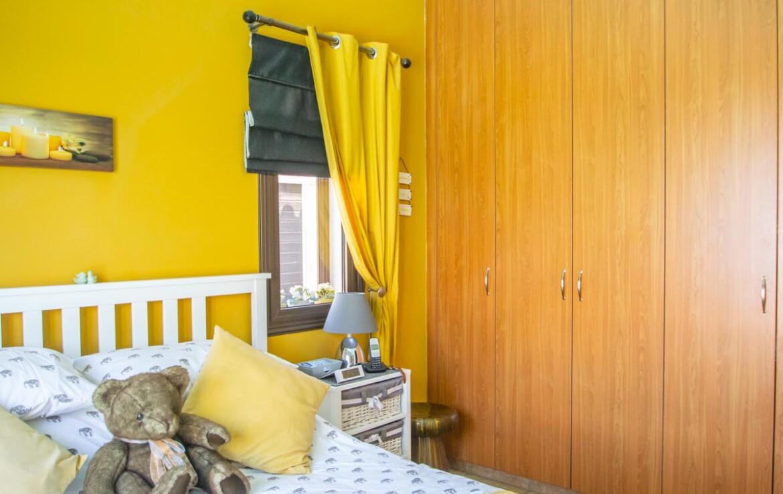 дом на Кипре -спальня