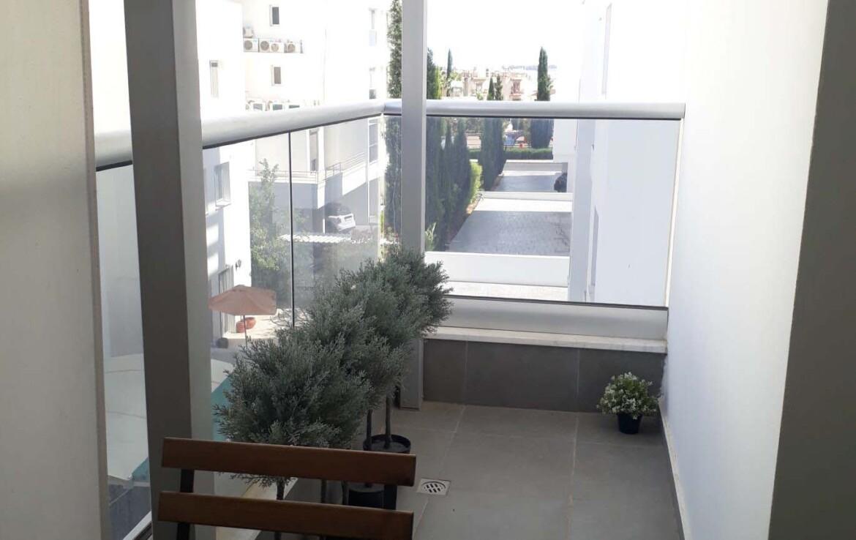 Квартира в Ларнаке - балкон