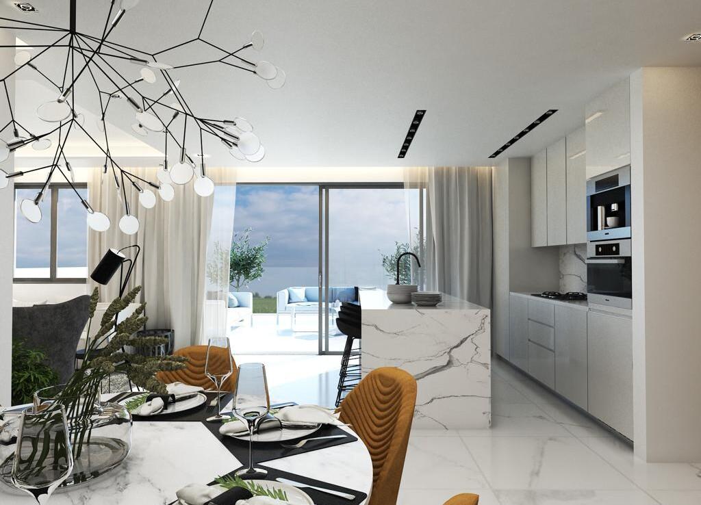 Квартира в Паралимни - кухня