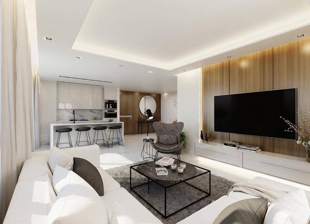 Современные апартаменты в Паралимни