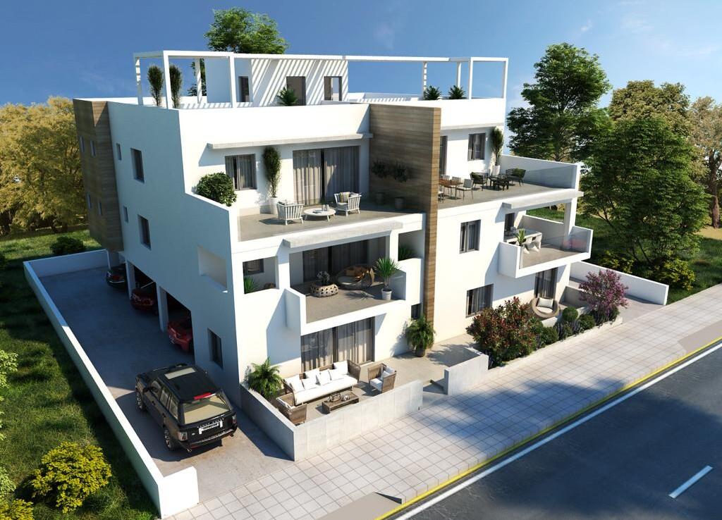 Новые апартаменты в Паралимни на продажу