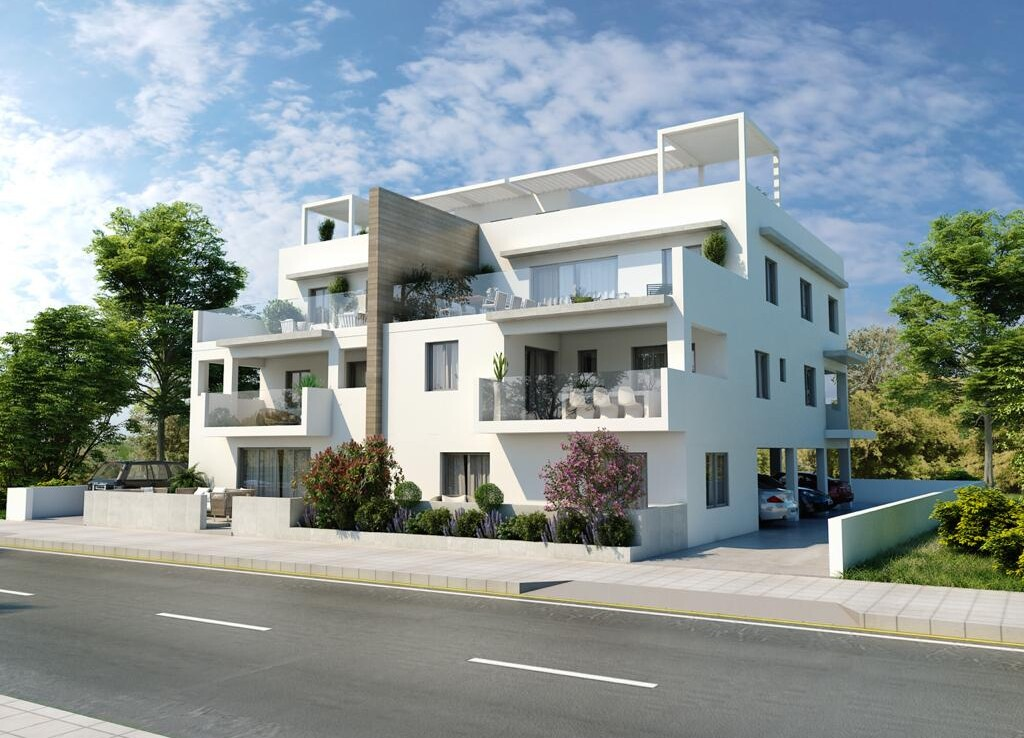 Новые квартиры в Паралимни на продажу
