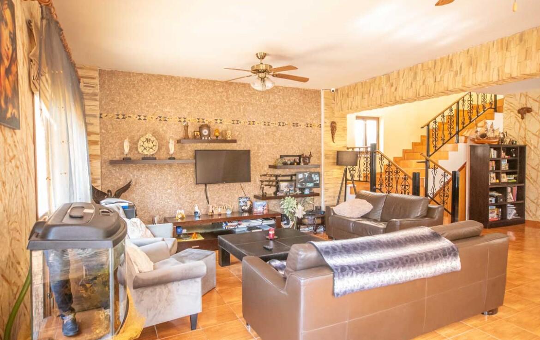 Купть дом в Ларнаке - гостиная