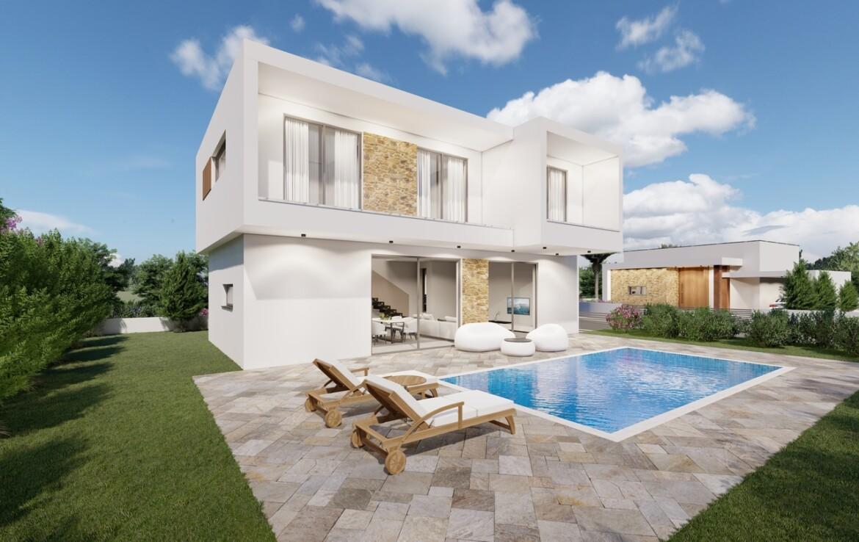 Новый дом на продажу в Ксилофаге