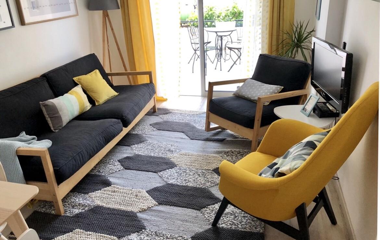 Апартаменты Кипра Ларнака - гостиная