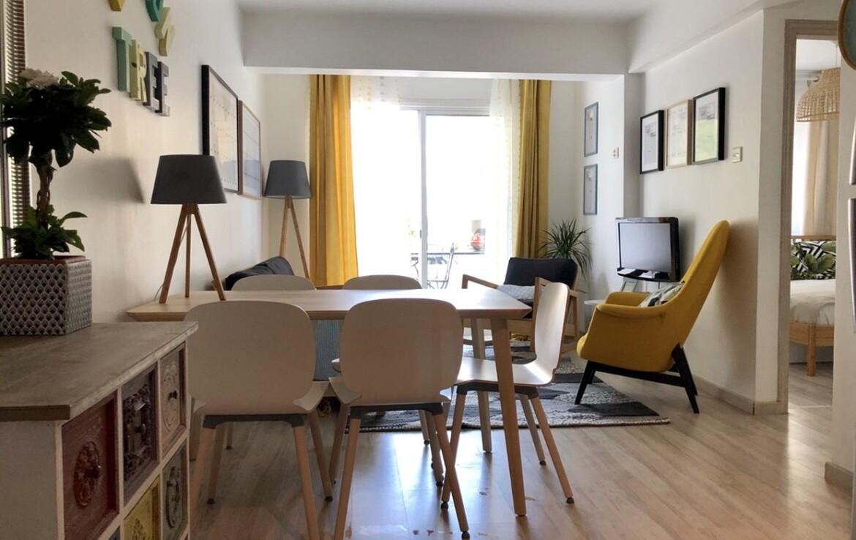 Апартаменты Кипра Ларнака - обеденная зона