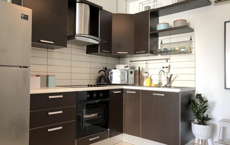 Апартаменты Кипра Ларнака - кухня