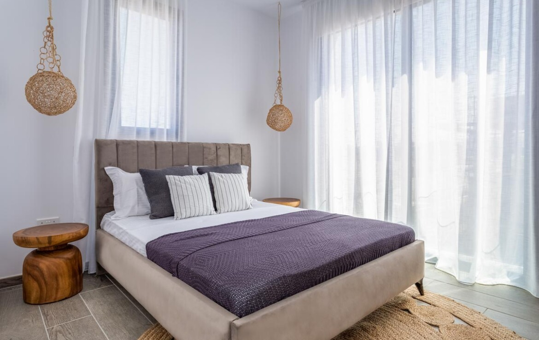 Двуспальная вилла в Каппарисе - спальня