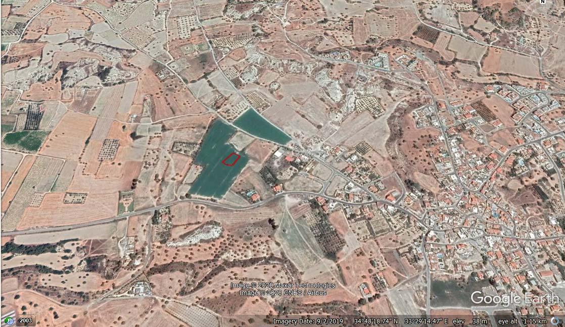 Земельный участок в Мазотос