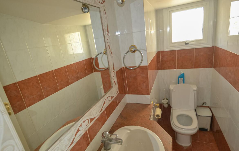 Купить дом в Паралимни - гостевой туалет