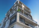 Односпальные апартаменты в Ларнаке в центре города
