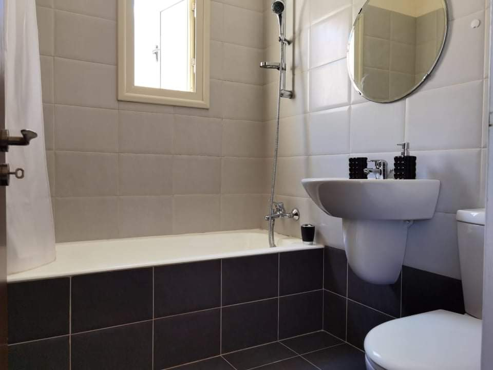 Уютный домик в Каппарисе - ванная