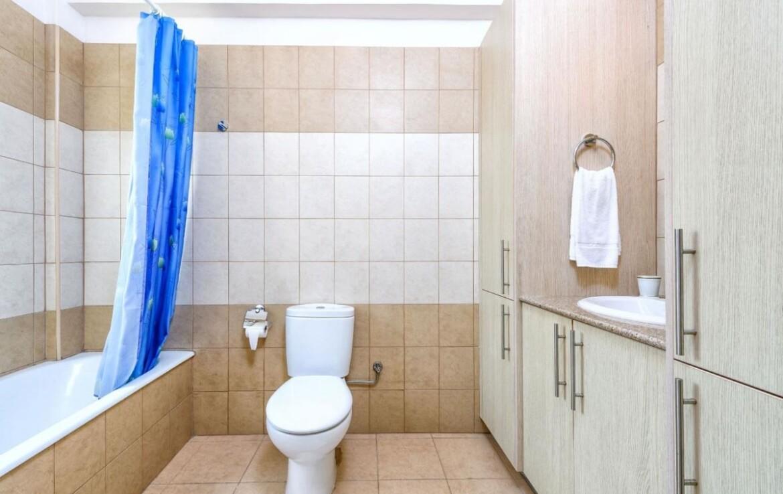 Трехспальная вилла с бассейном в Каппарисе - ванная