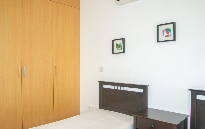 Трехспальные апартаменты - спальня