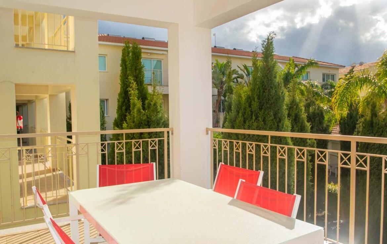 Трехспальная квартира в Каппарисе - балкон