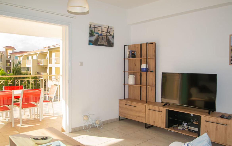 Трехспальная квартира в Каппарисе - гостиная