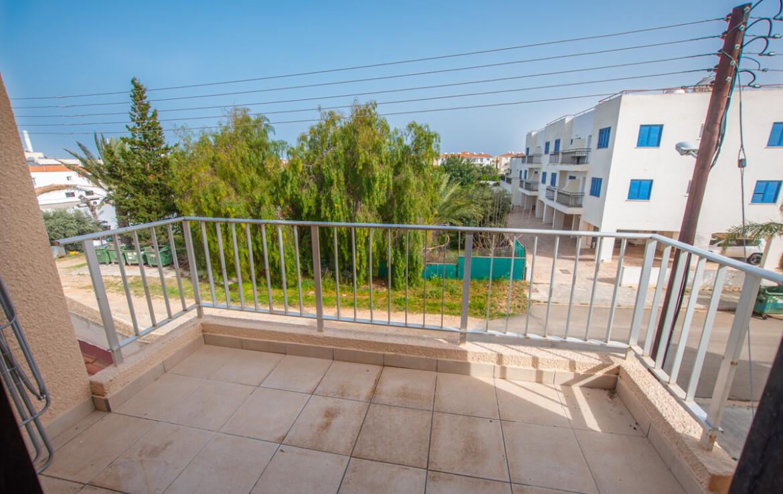 ОДноспальная квартира в Каппарисе - балкон