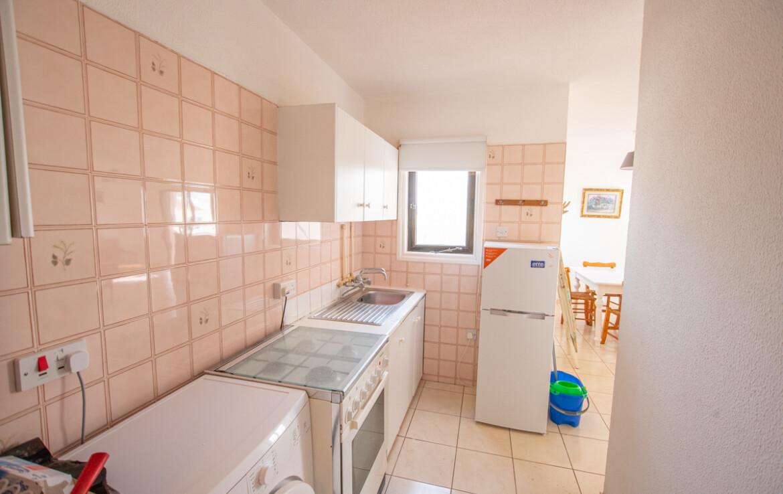 Односпальная квартира в Каппарисе - кухня