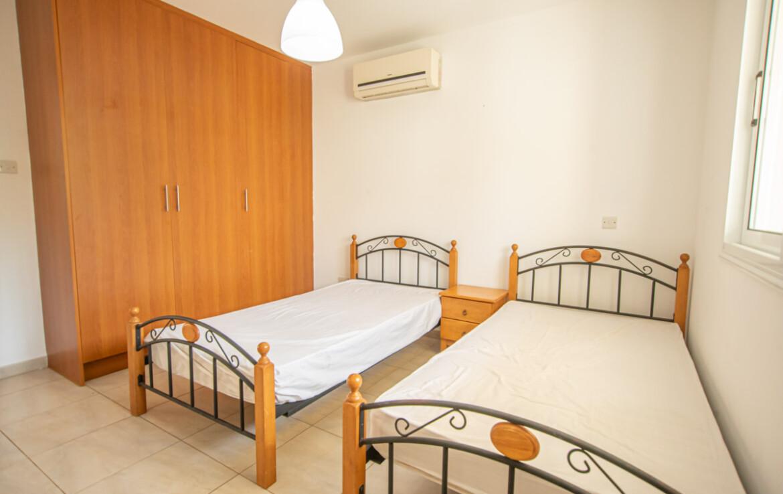двуспальная квартира в Каппарисе - спальня