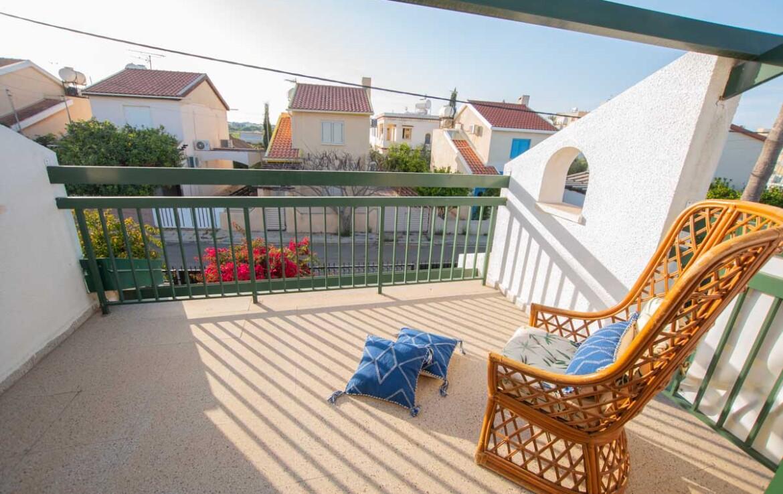 Уютная вилла в Айя Триаде - балкон