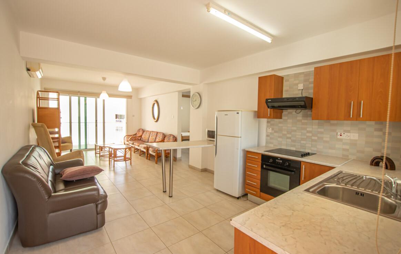 Двуспальная квартира в Каппарисе на продажа