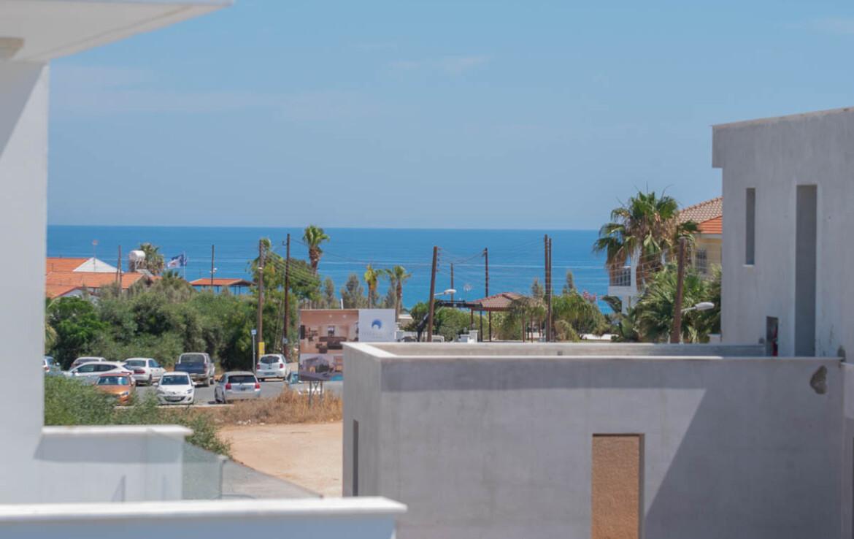 Вилла в Каппарисе на продажу -вид на море